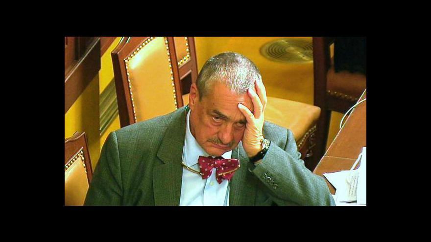 Video Karel Schwarzenberg hostem Událostí, komentářů