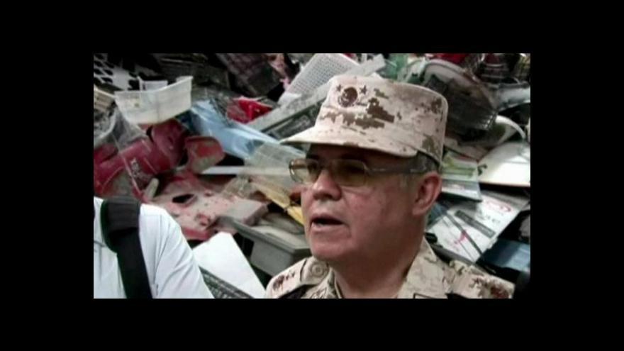Video Tunel na drogy objeven v Mexiku