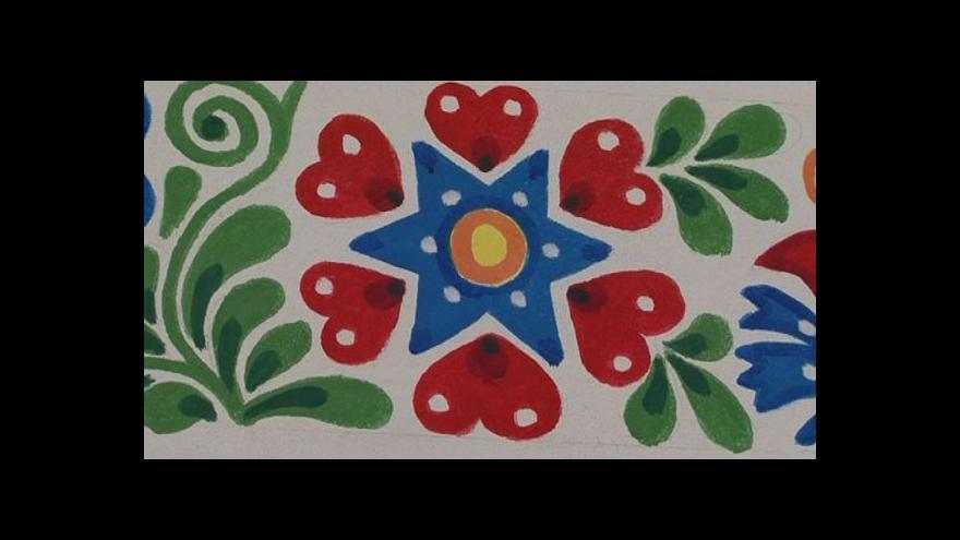 Video Jak se maluje slovácký ornament