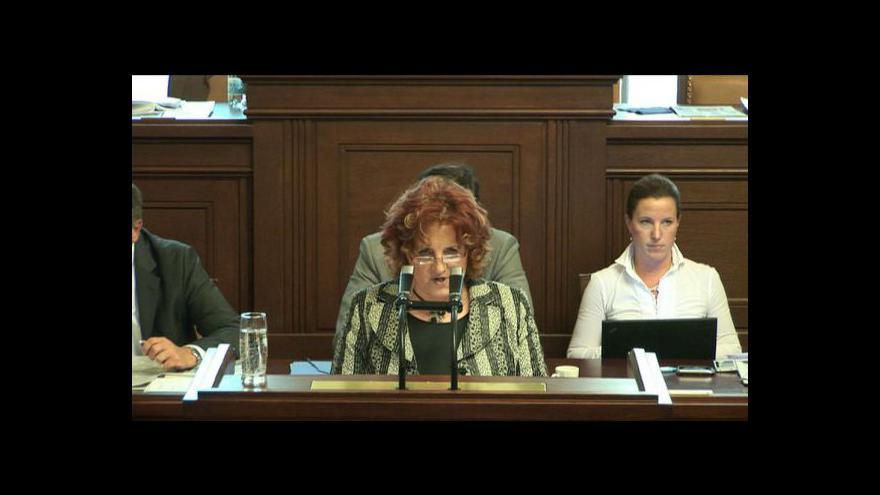 Video Sněmovna doporučila vydat Pakranovou k trestnímu stíhání