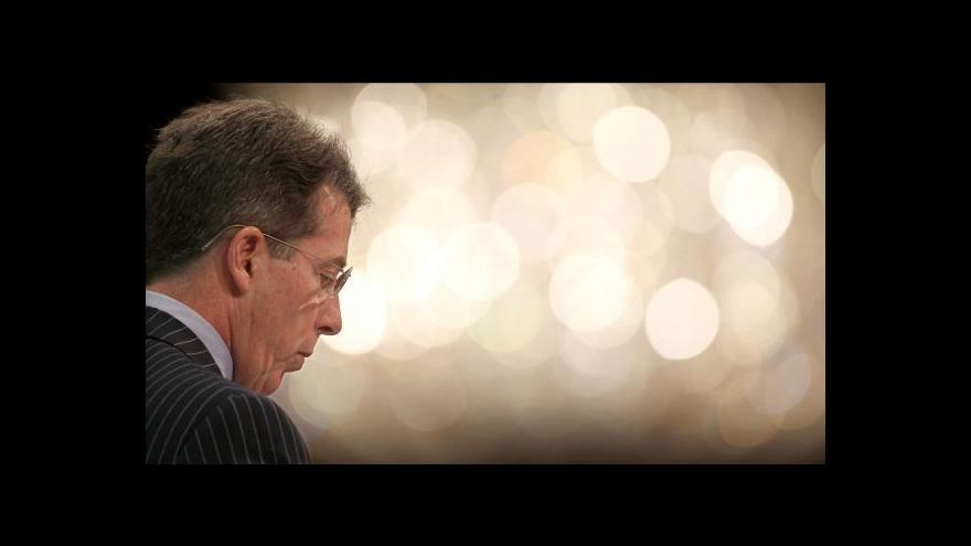 Video Odstupující šéf Barclays bez odměn