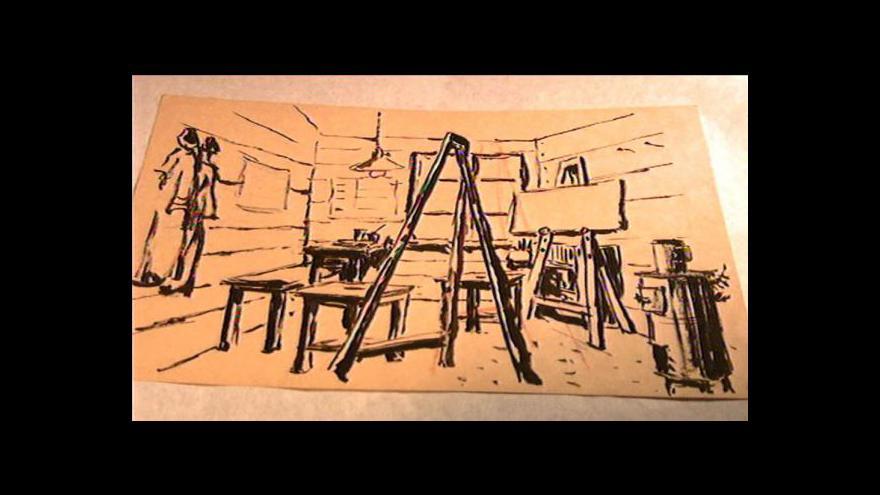 Video Příběh posledního obrazu Josefa Čapka