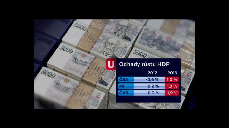 Video Černé vyhlídky české ekonomiky