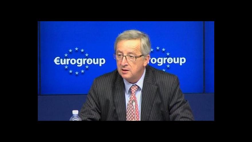 Video Eurozóna pomůže Španělsku z krize