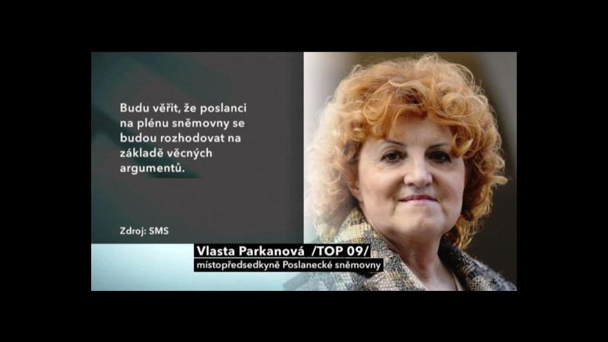 Video Imunitní výbor doporučil vydat Vlastu Parkanovou