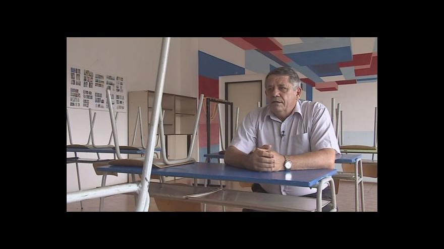 Video Hovoří starosta Velkých Opatovic Jiří Bělehrádek (KDU-ČSL)