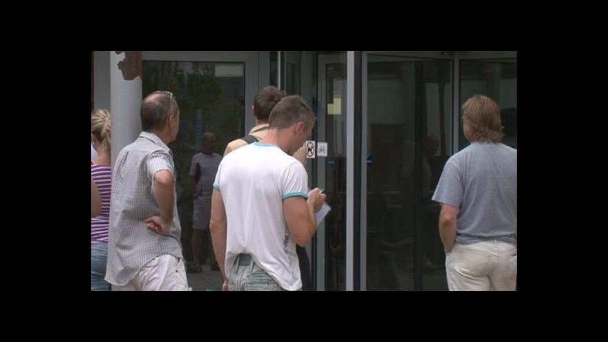 Video Reakce čekajících řidičů