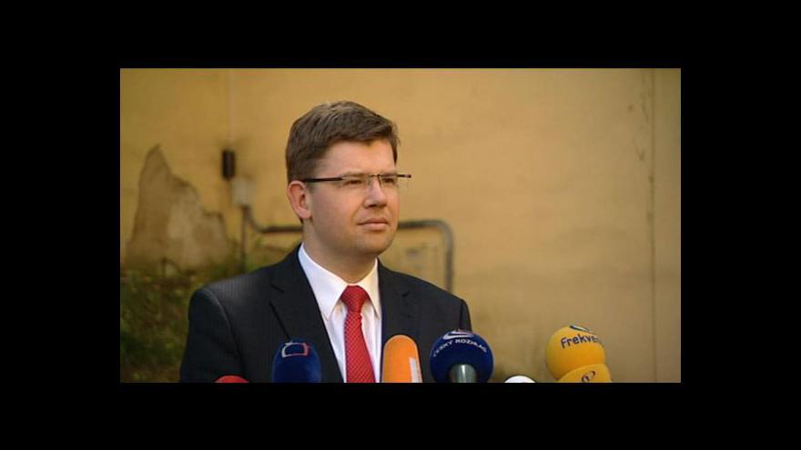 Video Pospíšil povede ve volbách ODS v Plzni