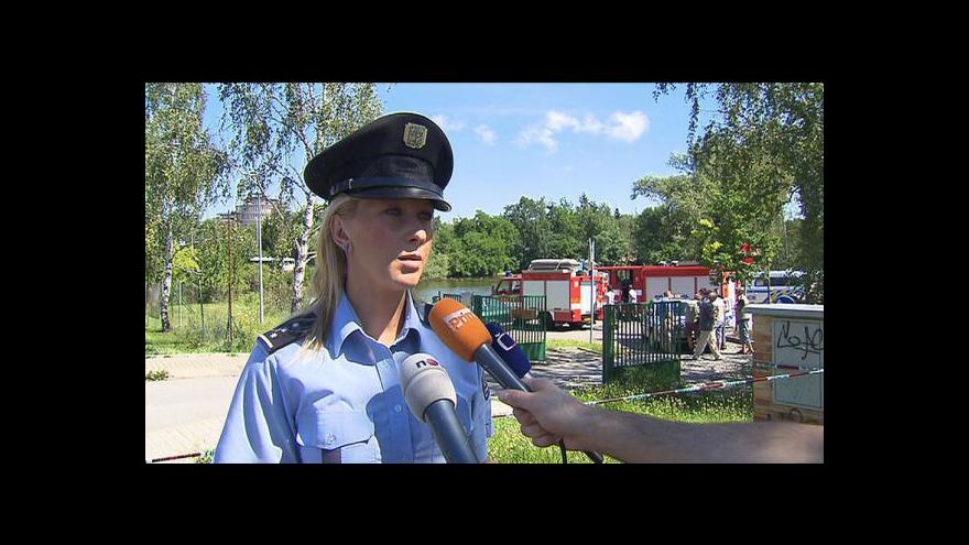 Video Vyjádření policejní mluvčí Evy Kropáčové