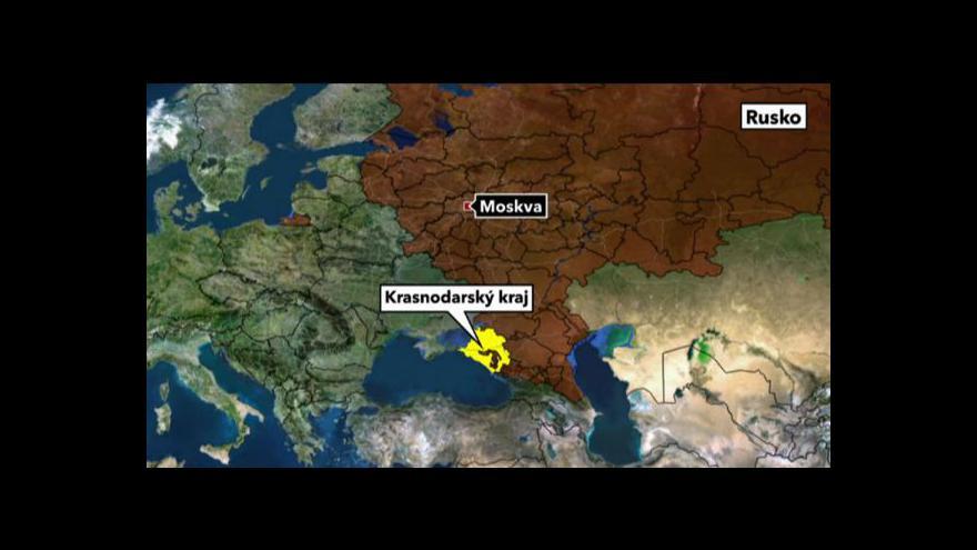 Video Události: povodně v Rusku