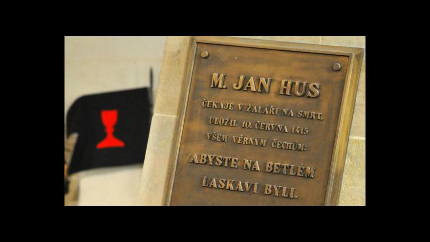 Video Výročí upálení Jana Husa