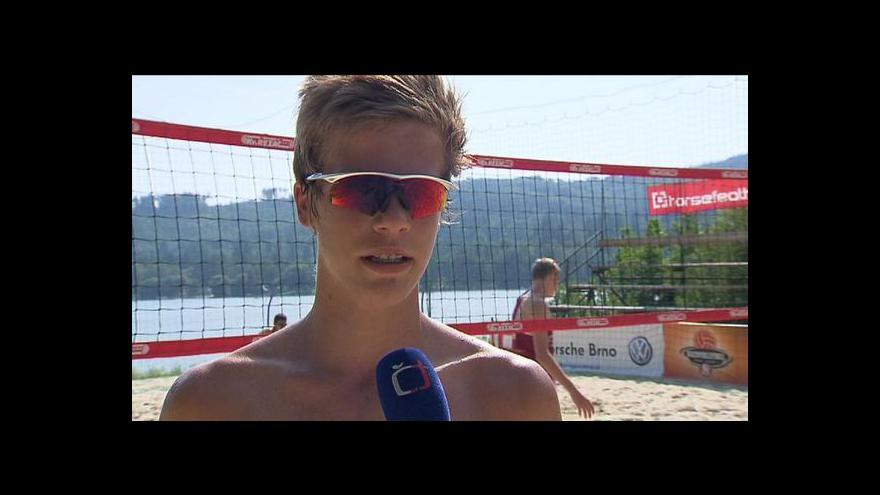 Video Trénink mladých volejbalistů