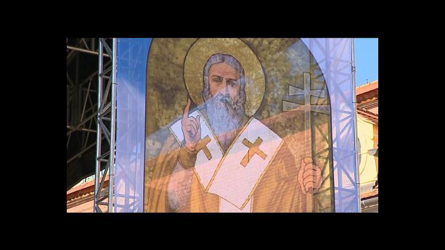Video Česko si připomíná výročí příchodu věrozvěstů Cyrila a Metoděje