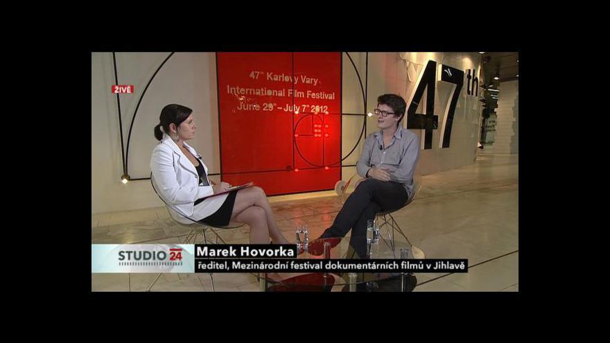 Video Rozhovor s Markem Hovorkou
