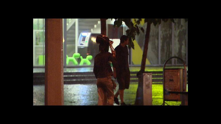 Video Výstraha meteorologů