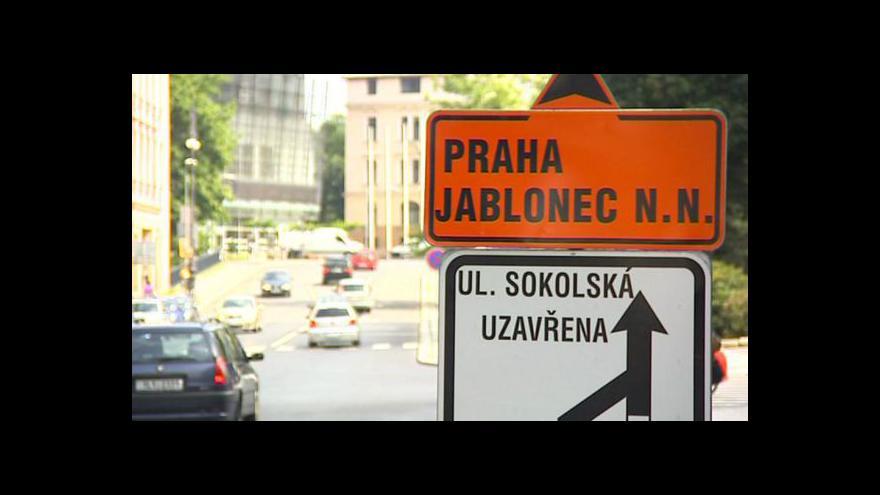 Video Uzavírky na silnicích