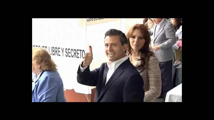 Video Nieto novým mexickým prezidentem