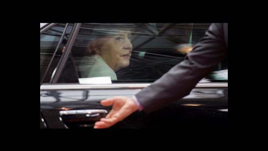 Video Brífink Angely Merkelové po skončení summitu