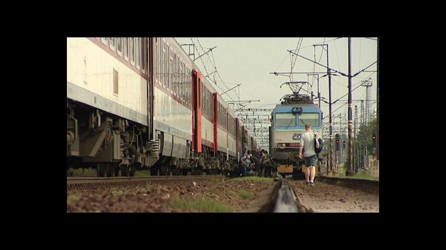 Video Vlaky nejezdí
