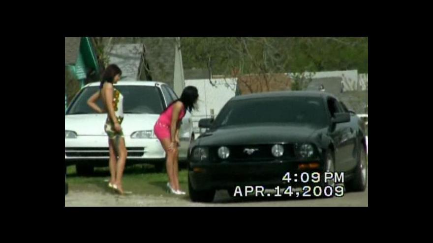 Video USA: Zátah proti dětské prostituci