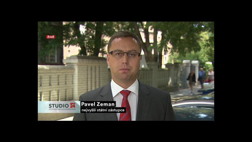 Video Rozhovor s nejvyšším státním zástupcem Pavlem Zemanem