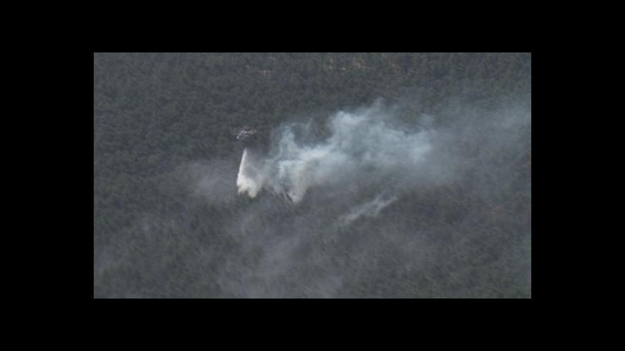 Video NO COMMENT: Letecké záběry požáru u Bzence