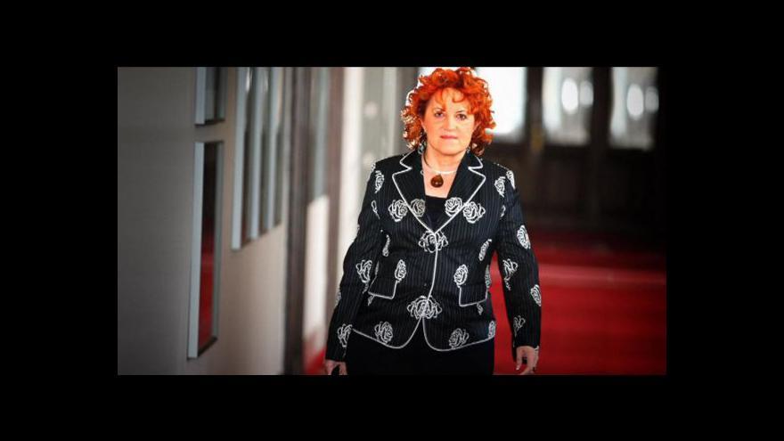 Video Vlasta Parkanová se hájila před imunitním výborem