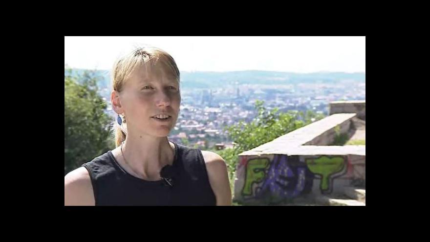 Video Hovoří autorka vítězného návrhu Hana Trtílková
