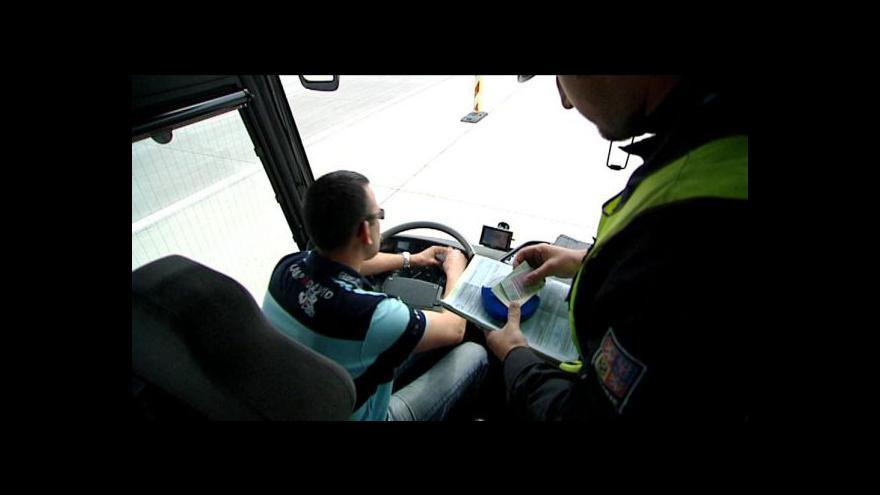 Video Někteří řidiči bezpečnostní přestávky nedodržují