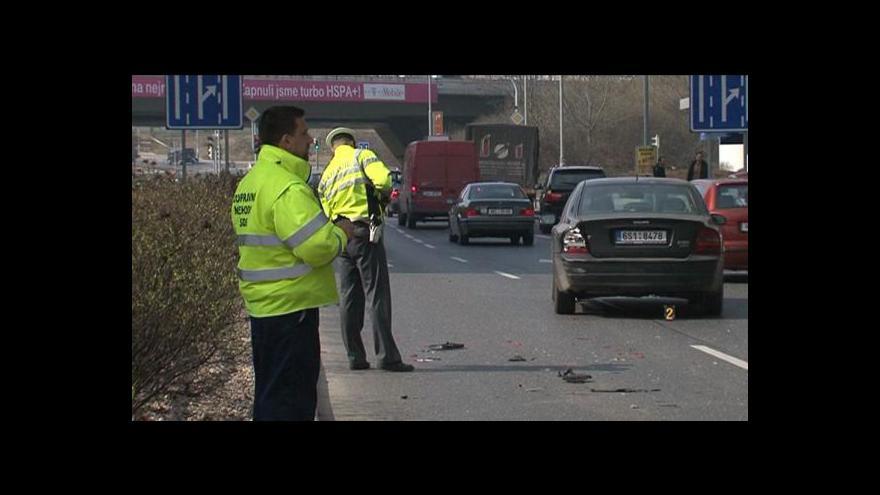 Video Rekonstrukce Janouškovy nehody