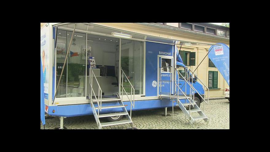 Video Mobilní pobočky bank na jihu Čech
