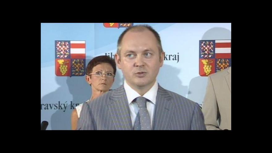 Video Reakce jihomoravských politiků na rozhodnutí NSS