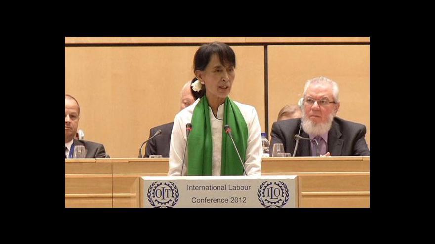 Video Barmská ekonomika ožívá díky Su Ťij