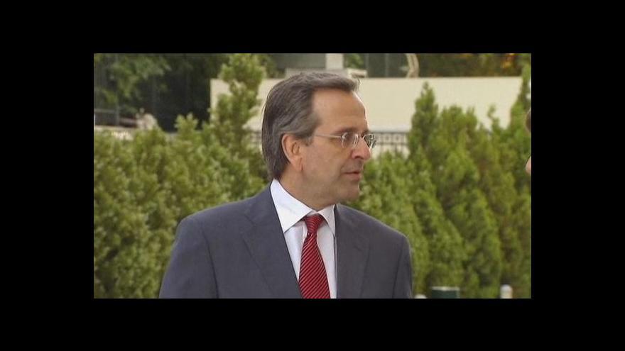 Video Řecko má novou vládu