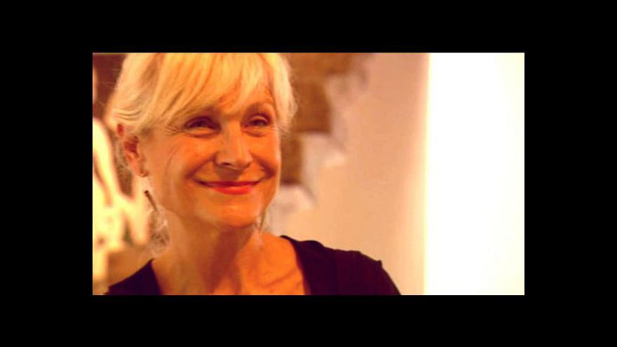 Video Hana Rousová, laureátka Ceny F. X. Šaldy