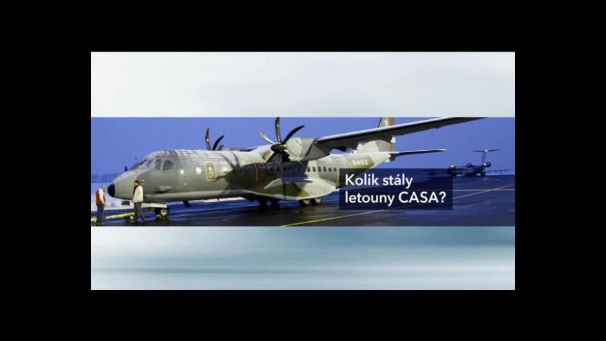 Video Omnipol vysvětloval nákup letadel CASA