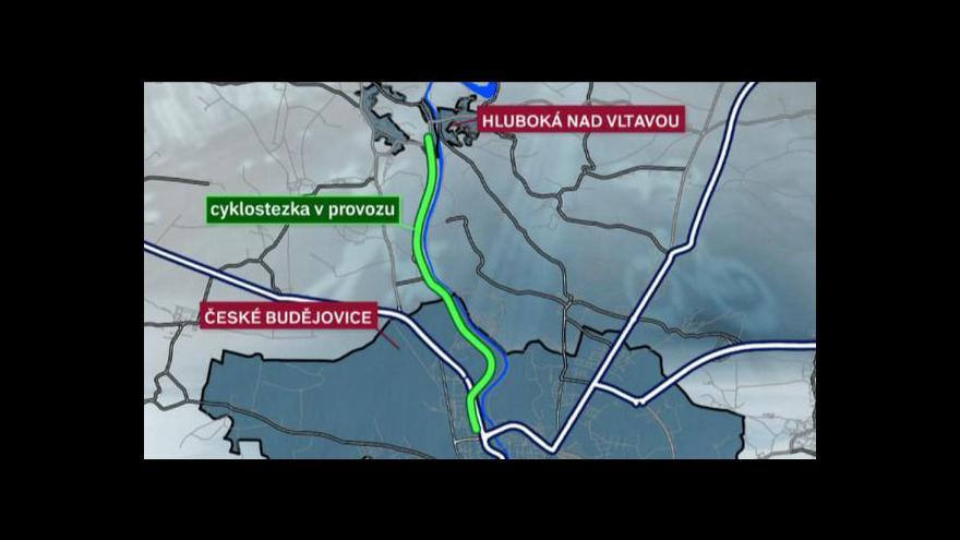 Video Cyklostezka podél Vltavy