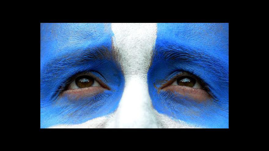 Video Události k povolebnímu jednání v Řecku