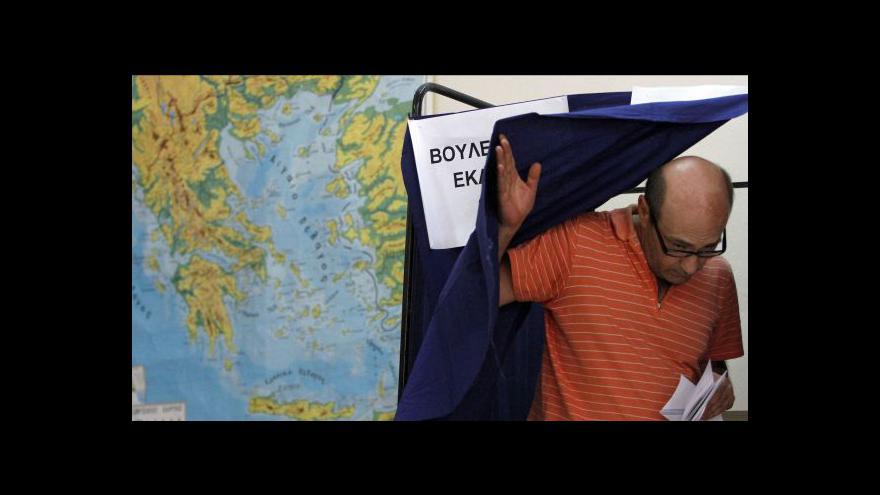 Video V řeckých volbách zvítězila Nová demokracie