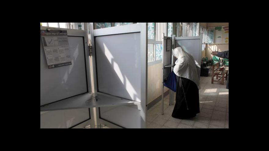 Video Volby v Egyptě provází bojkot