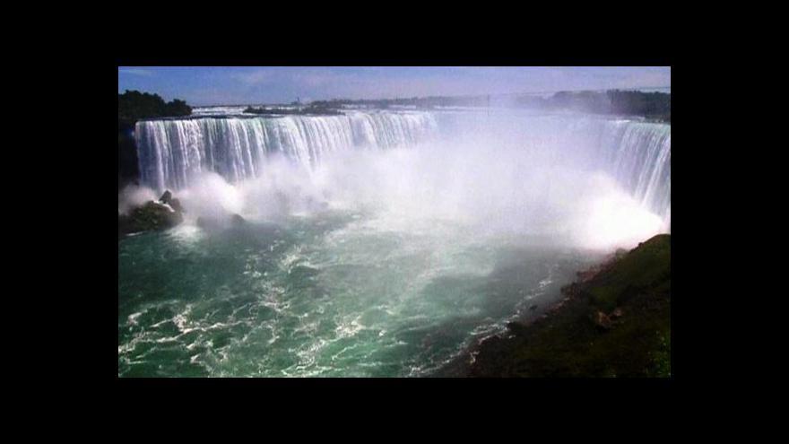 Video Niagarské vodopády zažijí mimořádnou podívanou