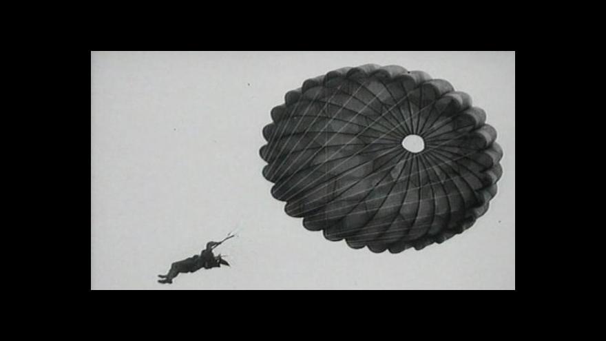Video Zemřel válečný parašutista Matula