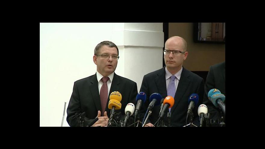 Video TK poslaneckého klubu ČSSD