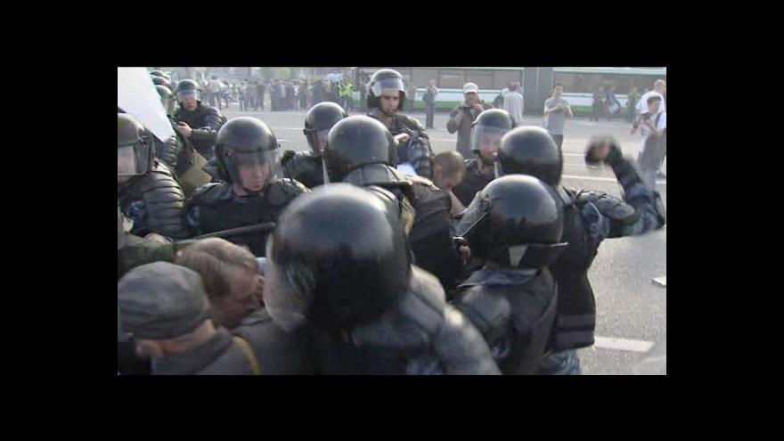 Video Telefonát Pavla Vondry k organizaci demonstrace