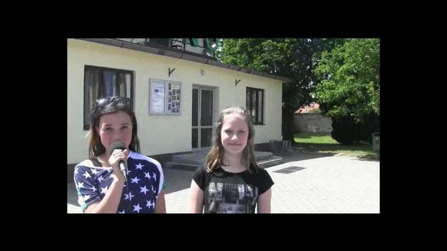 Video Reportáž Diany Netolické a Jany Michalíčkové