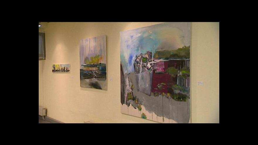 Video Dvojvýstava v ostravské galerii