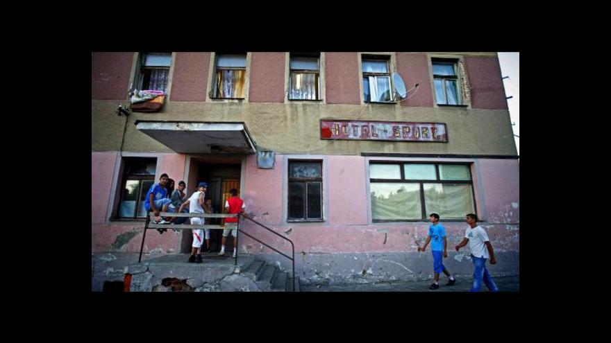 Video Události o situaci Romů v Česku