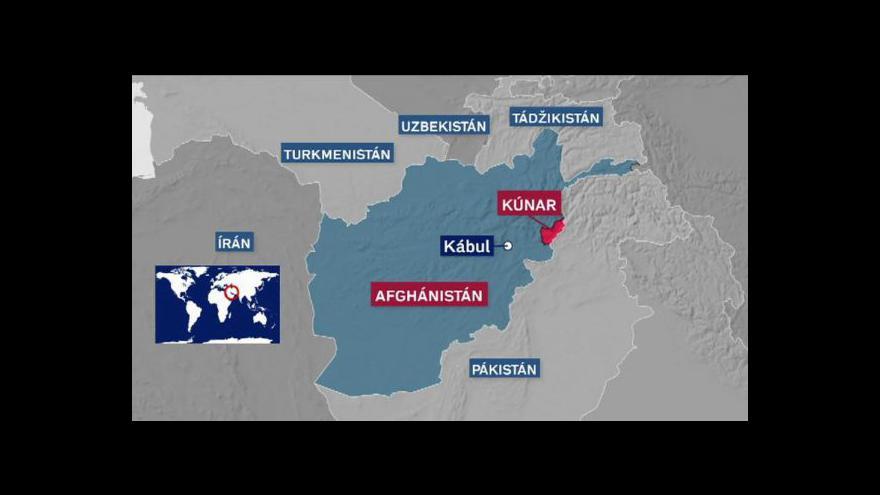 Video Afghánské rádio v provincii Kúnar