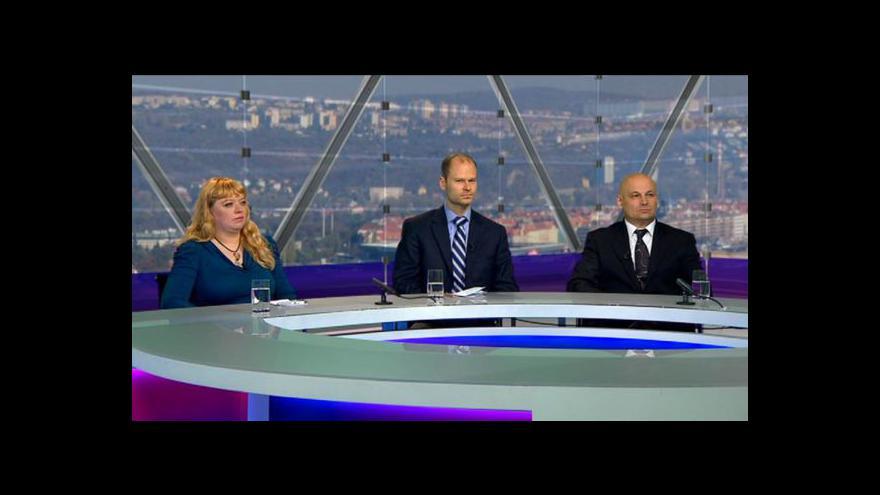 Video Debata o budoucnosti eurozóny v Otázkách Václava Moravce