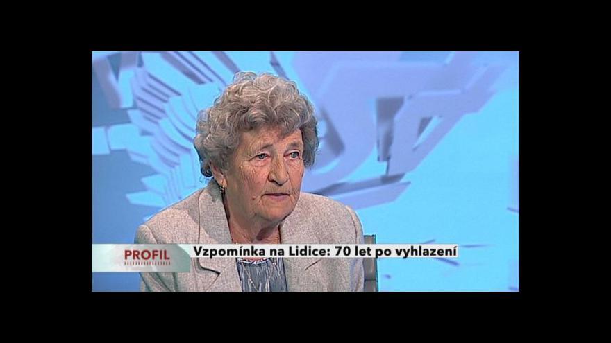 Video Rozhovor s Marií Šupíkovou